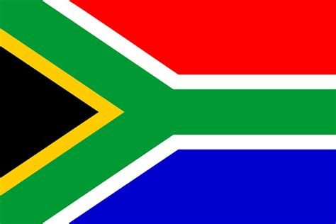 onlinelabels clip flag of south africa