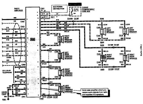 1997 lincoln town car wiring car wiring diagram