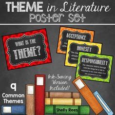 themes in literature part 1 youtube 1000 images about classroom bulletin boards on pinterest