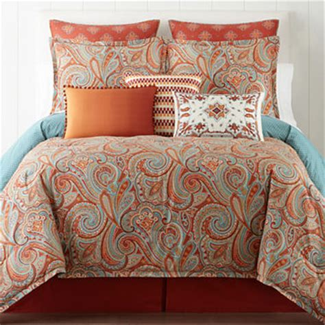 jc bedding jcpenney home morocco 4 pc comforter set accessories