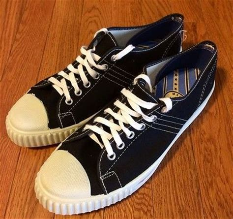american made basketball shoes details about vintage 60 s 70 s made in usa black low top
