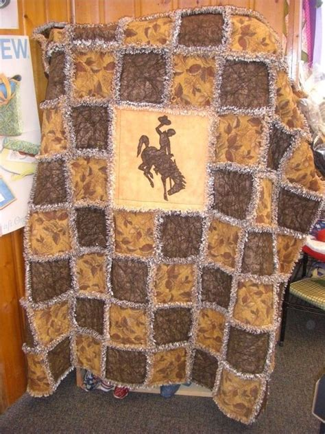 horse pattern quilt kits bucking horse quilt kit such a cute lil kid blanket my