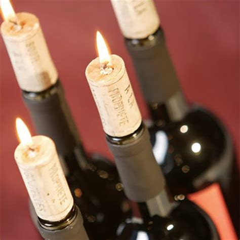 wine birthday candle wine cork wine cork candle decorations
