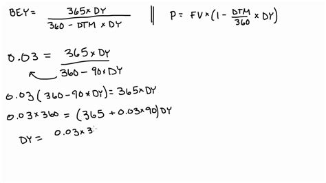 Bond Equivalent Yield Mba by Bond Equivalent Yield Exle 2