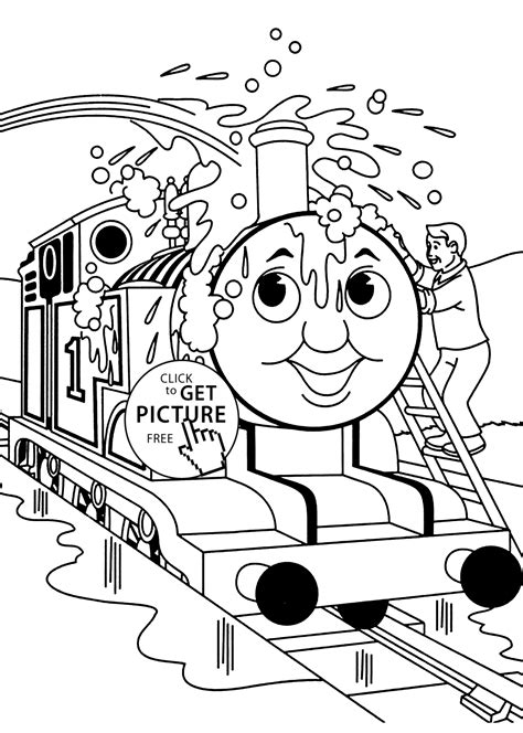 thomas coloring pages free printable thomas washing coloring pages for kids printable free