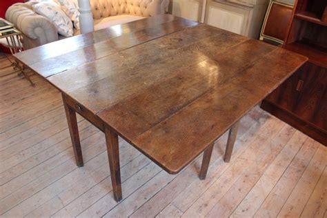 antique english georgian oak folding dining table dining