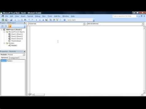 tutorial visual basic excel excel vba beginner tutorial introduction to the visual