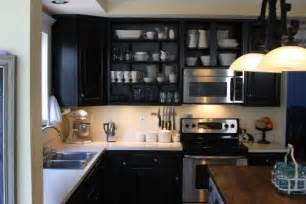 Small Kitchen Black Cabinets Ikea Black Kitchen Cabinets Decor Ideasdecor Ideas