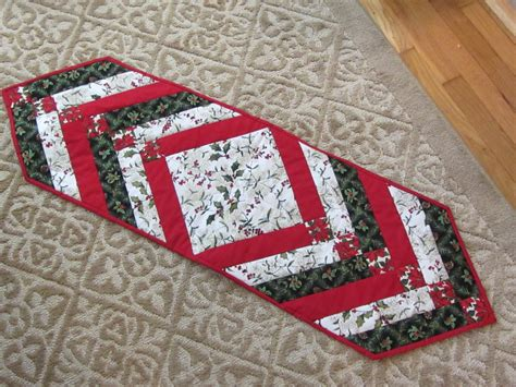 christmas table runner quilting sewing pinterest
