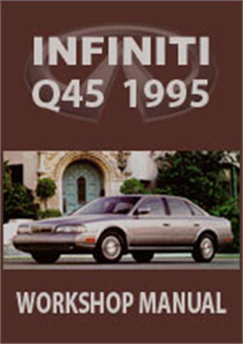 auto manual repair 1995 infiniti q navigation system infiniti g50 series q45 workshop repair manual