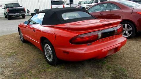 1995 Pontiac Firebird 1995 pontiac firebird cabrio pictures information and