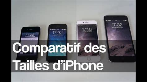 D Iphone 6 Comparatif Des Diagonales D 233 Crans D Iphone 4 5 6 6 Plus