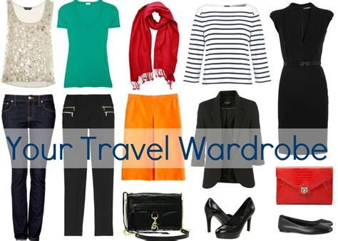 Travel Wardrobes by Resort Clothing For 40