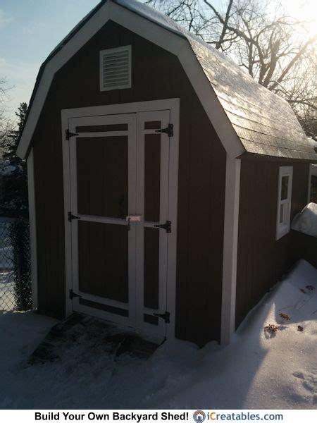 small backyard barn plans innovative double door design