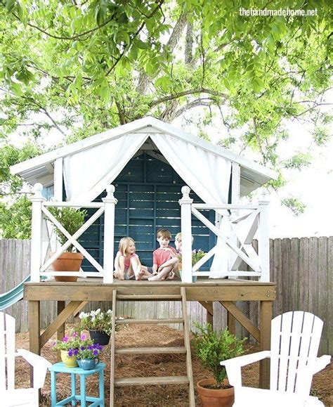 Handmade Home Playhouse - 17 best images about treehouse on reading room
