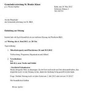 Muster Einladung Neujahrsempfang Einladung Gemeindevertretung Vor Ort St Bruder Klaus 04 06 2012 171 Pfarrgemeinderat 187 Christen