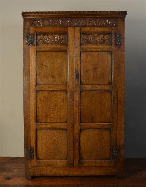 Carved Wardrobe by Carved Oak Wardrobe Antiques Atlas