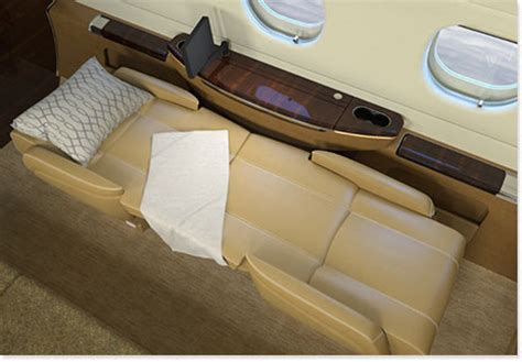 private jet with bed which private jets have flat beds privatefly blog