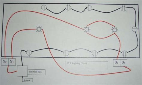 radial lighting circuit wiring wiring diagrams repair