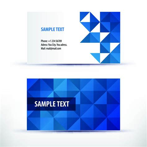 Template For Business Card by Business Card Template Business Card Template Freepik