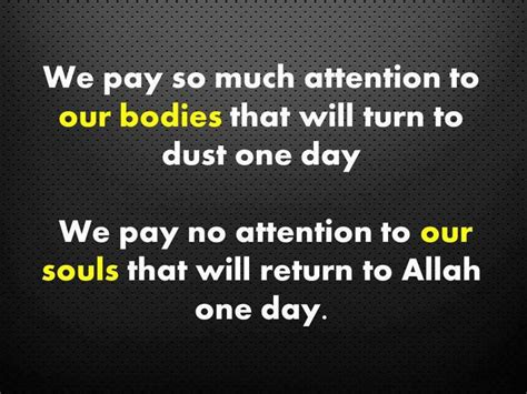 Soul On Islam amazingly said may allah bless us with the strength to