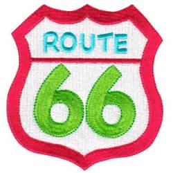 embroidery design route 66 route 66 sign embroidery design annthegran