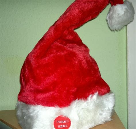 dancing christmas tree hat singing santa hat hat santa hat merry