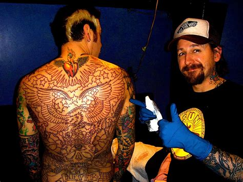 oliver peck tattoo 20 questions with mike herrera of mxpx christie gee