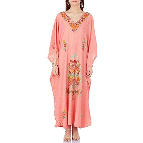 Handmade Kaftans - indian embroidered kaftan dress handmade kaftans