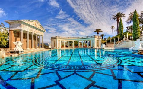 Mobile Home Interior Walls by Hearst Castle Roman Pool Wallpaper