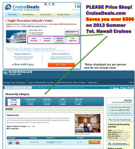 hawaii cruise deals 2013 cheap discount cruises to maui kauai 2013 summer hawaii cruise deals cruisesource
