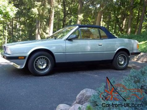 how to learn all about cars 1987 maserati biturbo spare parts catalogs 1987 maserati convertible