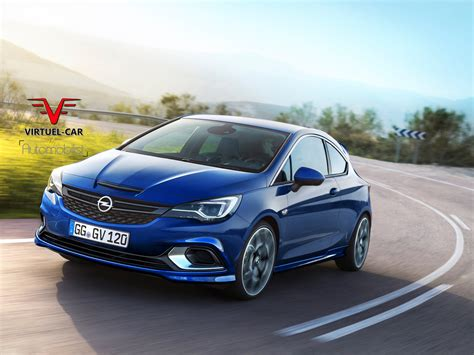 2017 Opel Astra Opc Rendered Could Use Tuned 1 6 Liter