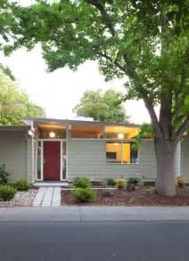mid century modern window trim mid century modern exterior paint