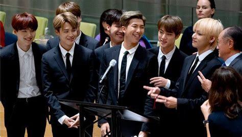 kim namjoon un speech kim namjoon k pop band bts speak at un youth event don