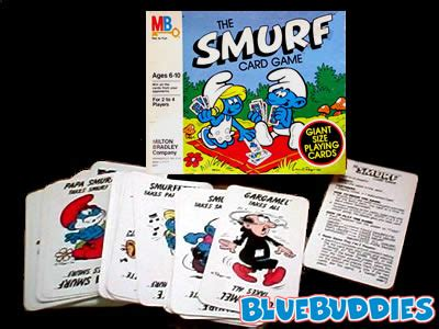 smurf card game the smurf card game