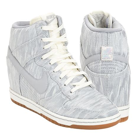 wedge nike sneakers nike dunks wedges review popsugar fashion