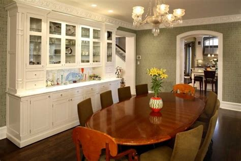 built in cabinets in dining room built in china cabinet kitchen traditional with arm chair