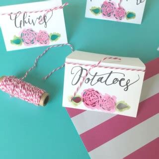 diy name cards paper crafts archives craft remedy