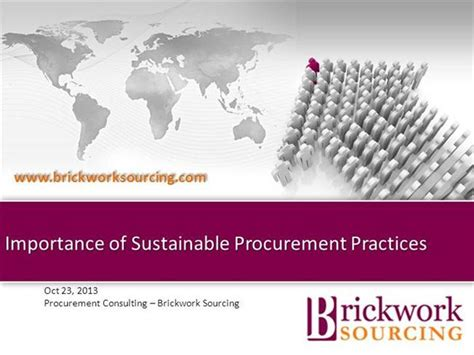 the significance of sustainability books importance of sustainable procurement practices authorstream