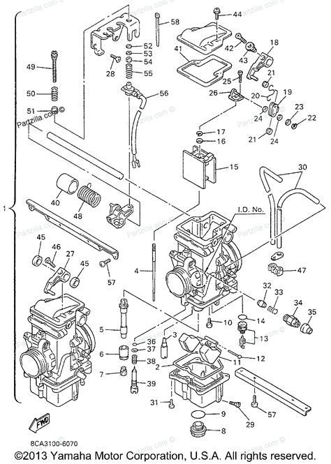 yamaha grizzly 125 carburetor diagram 4 best images of yamaha grizzly 600 carburetor diagram