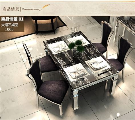 stylish dining table sets dining table sets black marble dining table 4 chairs