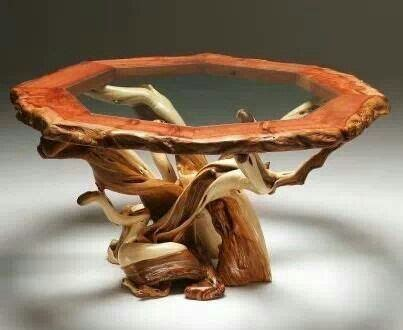 tree root coffee table for the home dyi tables