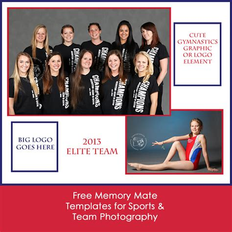 11 Free Memory Mate Templates For Sports Photography Memory Mate Templates