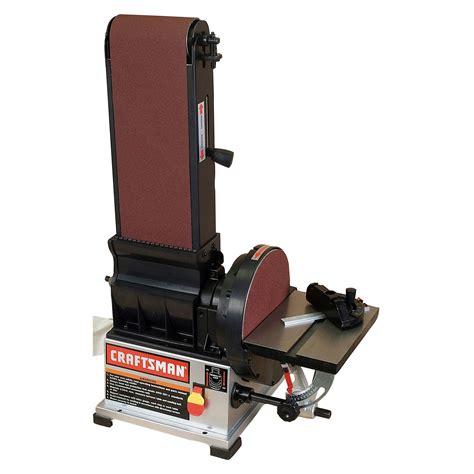 craftsman bench sander craftsman 22500 3 4 hp 6 quot x 9 quot belt disc sander sears outlet