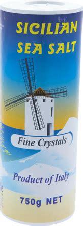Sea Salt Coarse 250g iblea sea salt sicilian 250g the grocer