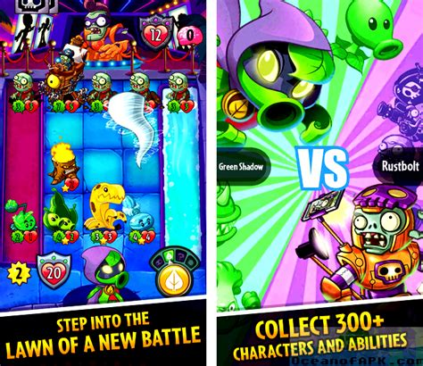 download game pvz free mod apk plants vs zombies heroes mod apk free download