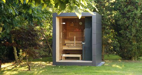 garten sauna moderne design gartensauna schicke gartensauna