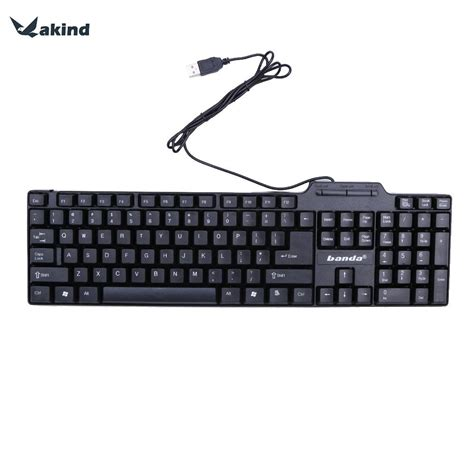 Keyboard Usb Keyboard Usb Keyboard Fleksibel Laptop wired keyboard illuminated backlight usb wired gaming keyboard multimedia waterproof for