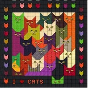 free printable cat quilt patterns cat other free sler patterns